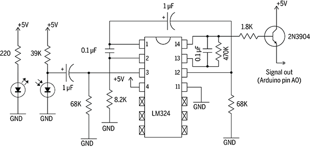 easily take a pulse with a infrared pulse sensor make 917270760 Craftsman Wiring Diagram Model wiring diagram for pulse monitor