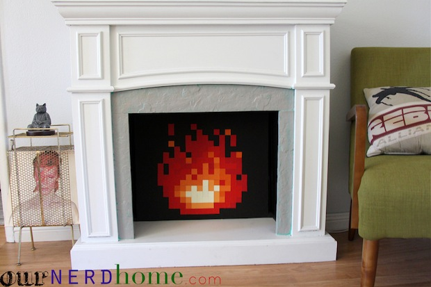 ournerdhome_zelda_8-bit_fireplace_01