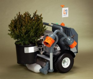 'Harvey', the HV-100 nursery and greenhouse robot, from Harvest Automation