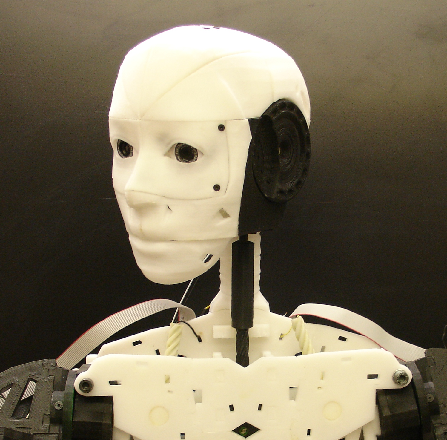 Gael Langevin's open source, 3D-printed InMoov robot will be our guest on November 13th.
