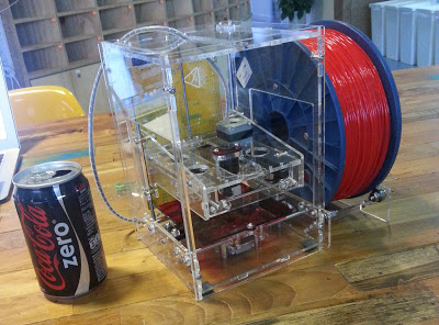 The TinyBoy 3D printer