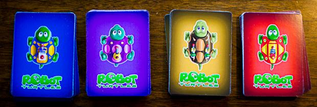 Robot Turtles 4 decks