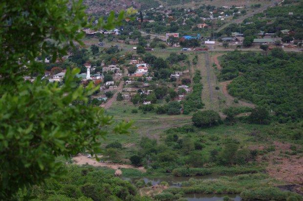 Mozambique border town.