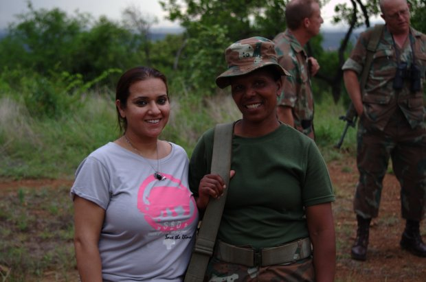 Princess Aliyah meets with female combat troop.