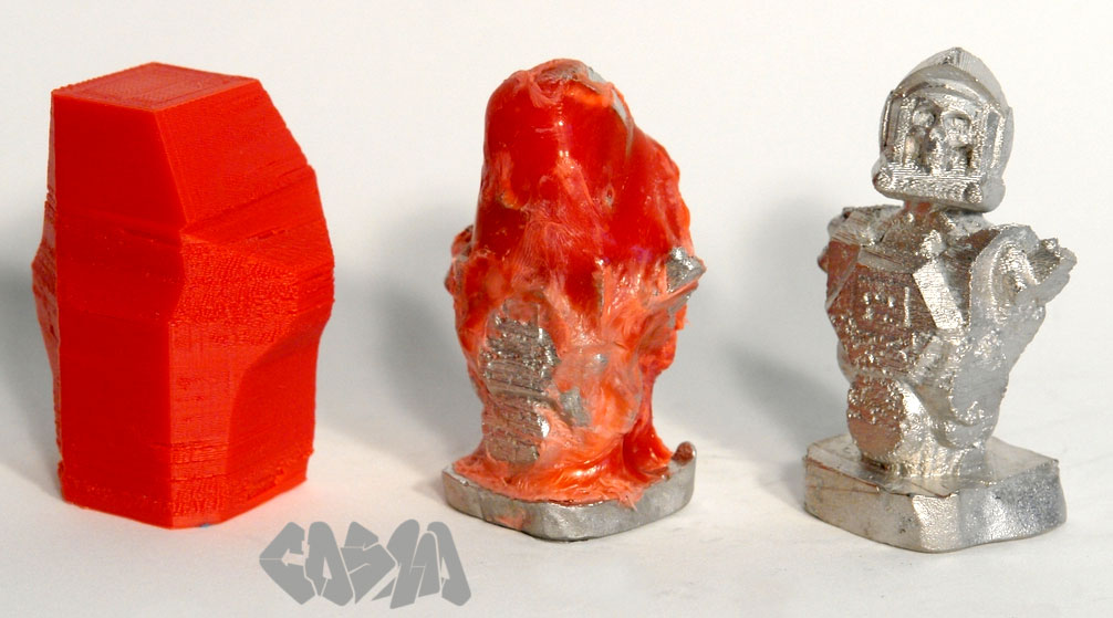 Metal Casting With Your 3d Printer Make