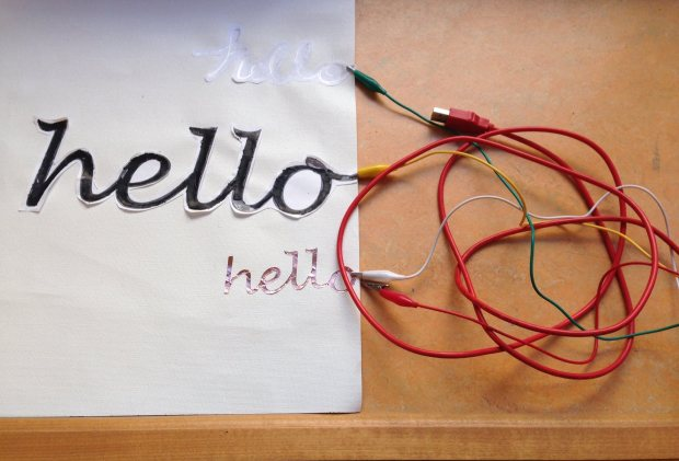 Making Instruments and Controllers with the Makey Makey workshop this Saturday.