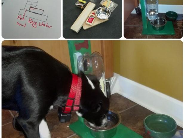 Self-Filling Pet Water Bowl