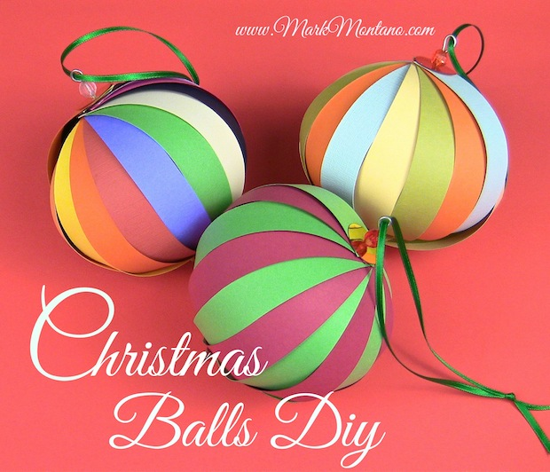 How-To: Paper Christmas Balls