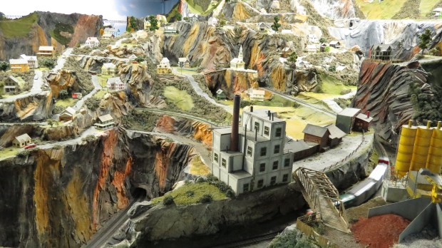 One of many multi-level, detail-packed landscapes.