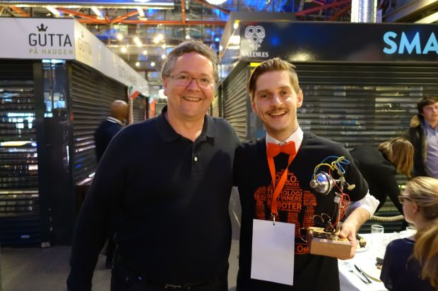 Erik of Creatables was named Oslo Maker of the Year.