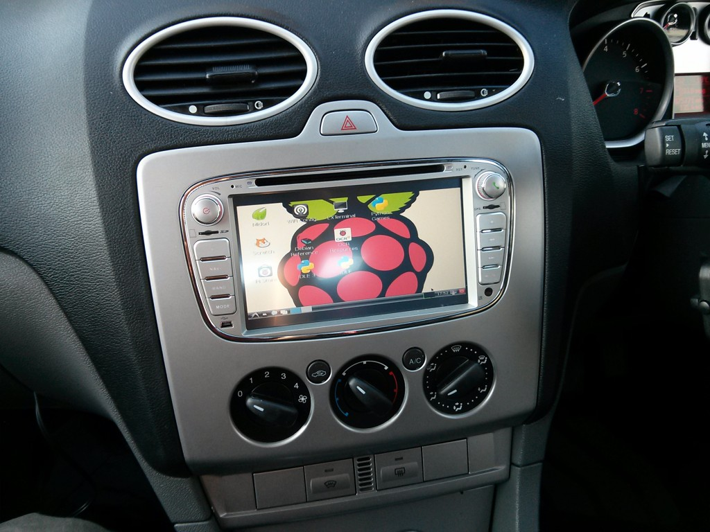 add a computer to your car with a raspberry pi make. Black Bedroom Furniture Sets. Home Design Ideas