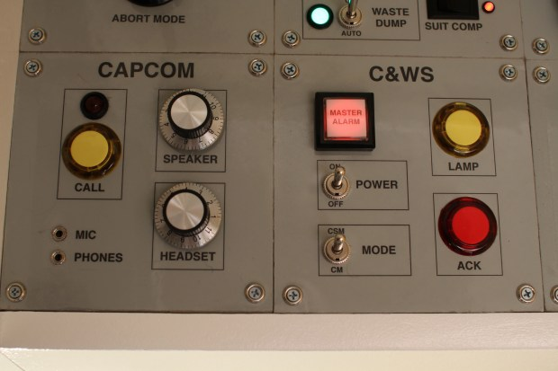 Mission Control Desk CAPCOM CWS