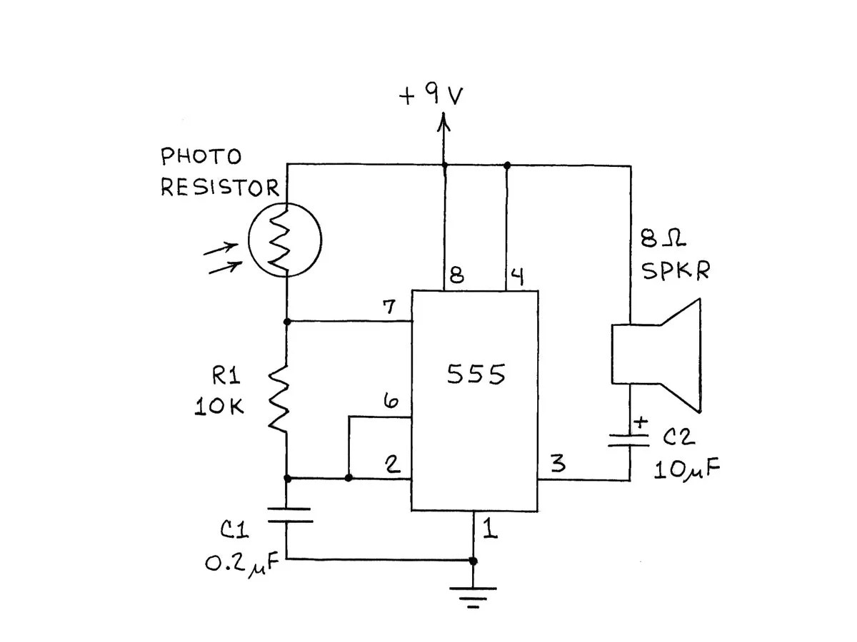Amateur Scientist Experimenting With Light And Dark Sensors Make Remote Controlled Switch Circuit Electronic Circuits Diagram An Ultra Sensitive Photoresistor Sensor
