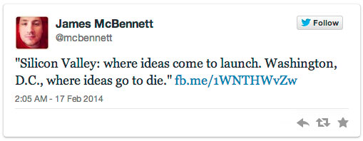 James McBennett Tweets