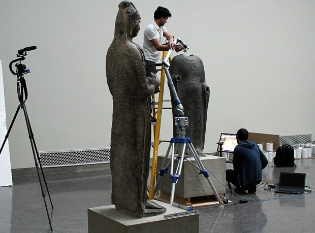 Scanning Buddha