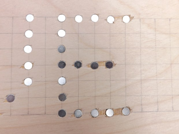 Magnetic Hidden Messages
