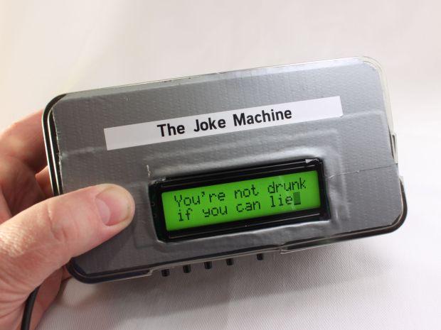 Build a Raspberry Pi Powered Joke Machine