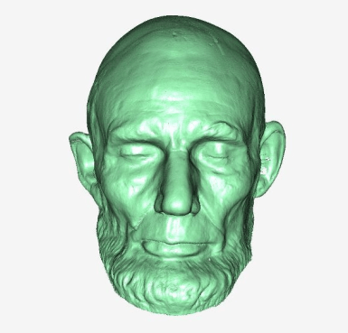 Lincoln Mask Rendering