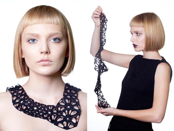 Nervous system necklace