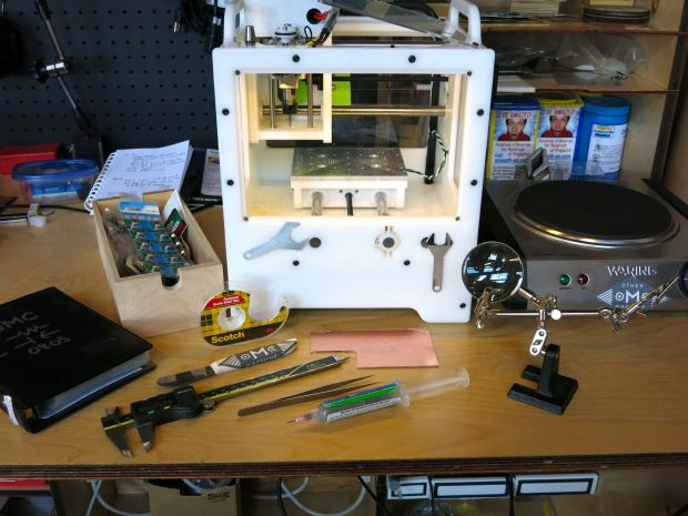 Simple Surface Mount PCB Milling With The Othermill