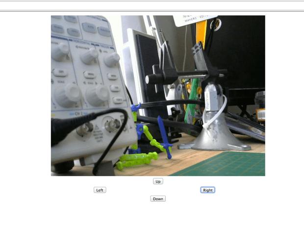 """""""Raspberry Eye"""" Remote Servo Camera"""
