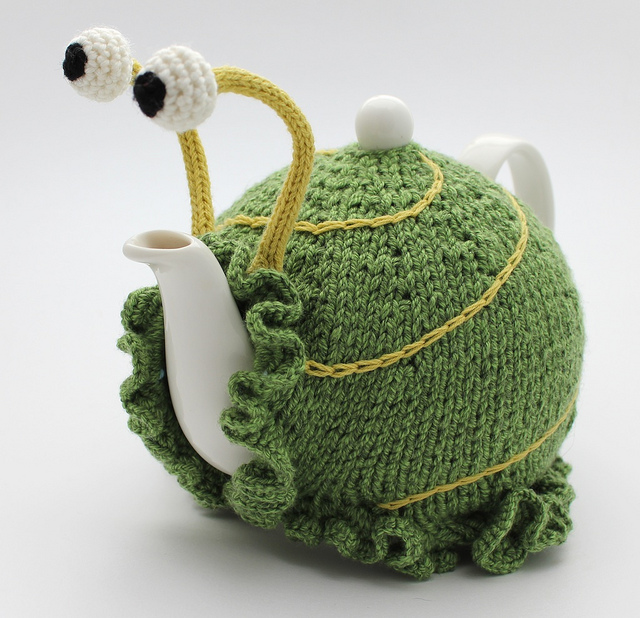 Snail Tea Cosy Pattern Make