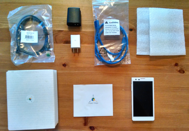 Project Tango — what's in the box