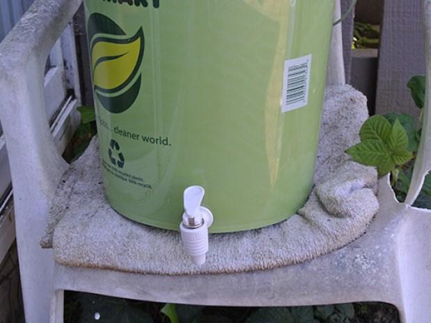 Double Bucket Bokashi Compost