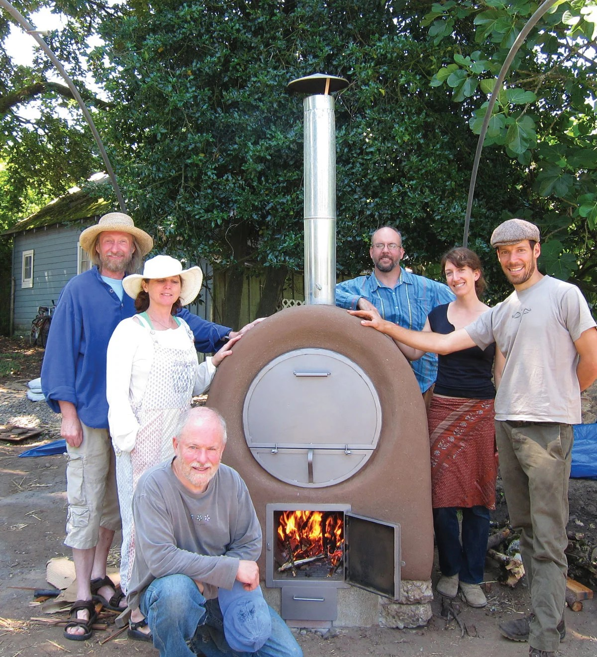 build the perfect backyard wood fired pizza oven make