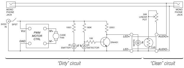 Schematic diagram. Click above for larger image, or here for more detailed PDF.