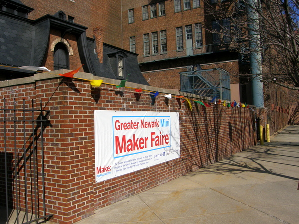 Hosted at the historic Newark Museum, NJ's first Mini-Maker Faire opened on April 5, 2014.