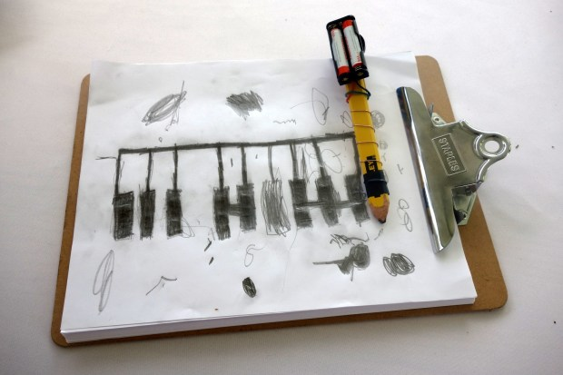 """A version of the """"Drawdio"""" Musical Pencil was getting a lot of attention this weekend."""