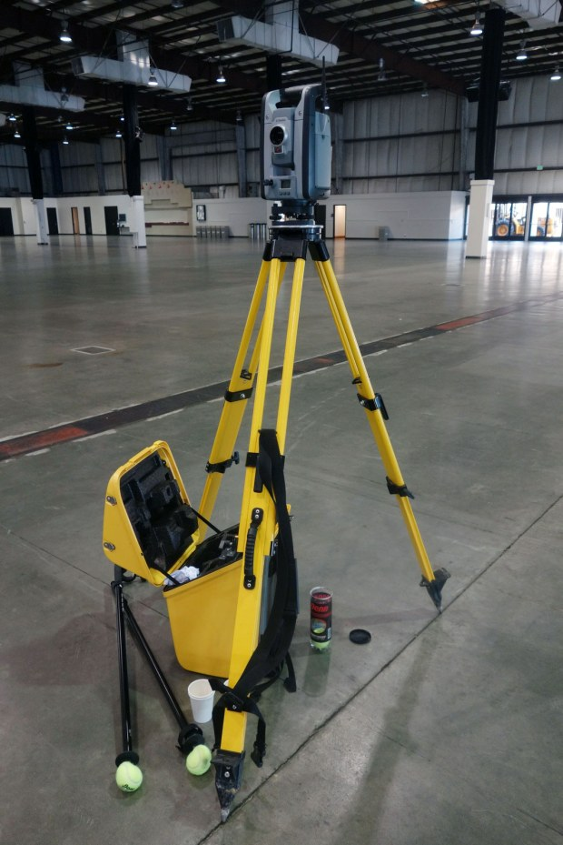 The Trimble S8 Total Station in Expo Hall
