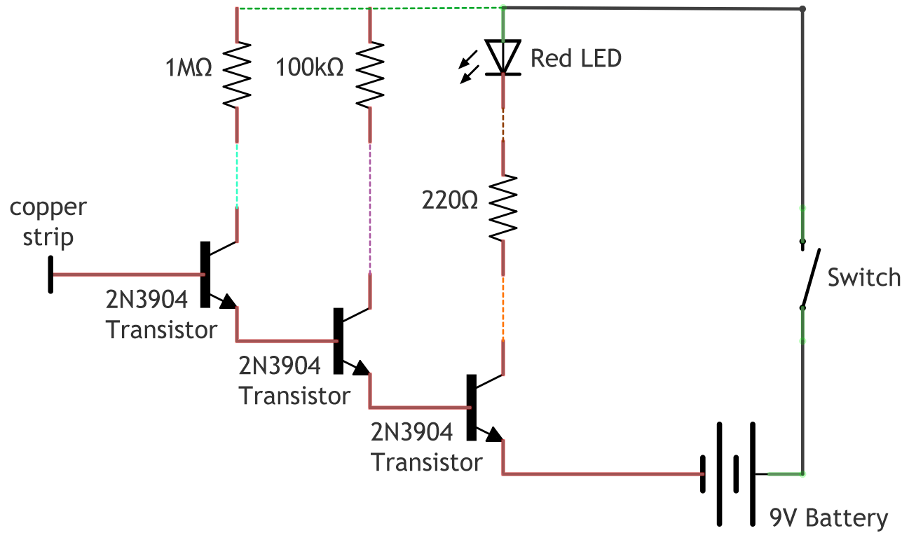 Wireless Cable Diagram