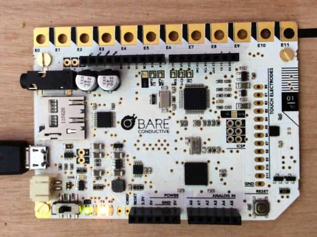 Bare Conductive's Touch Board