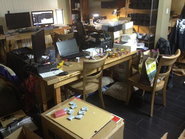 World Acrobotic Headquarters, circa 2013 ( living room)