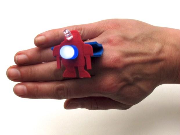 LED Binder Clip Bling