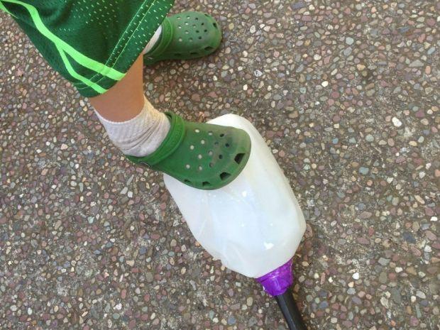 Milk Jug Rocket Launcher