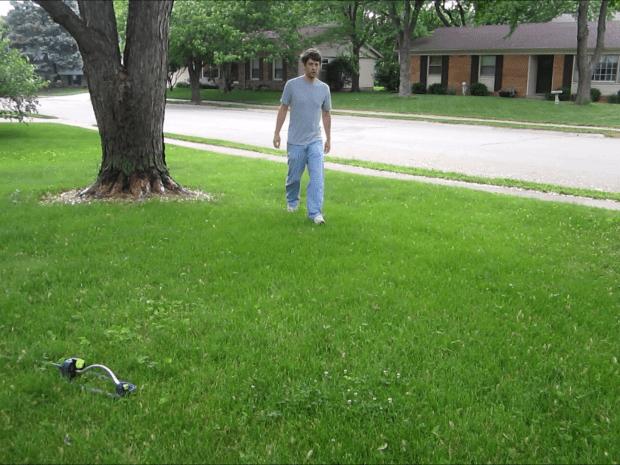 Motion Activated Sprinkler