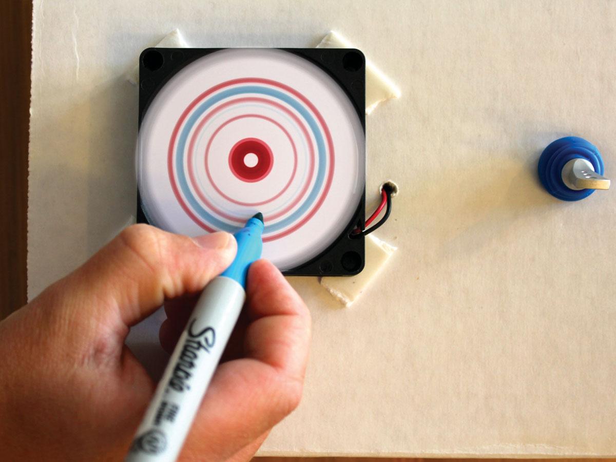Mini Spin Art Machine