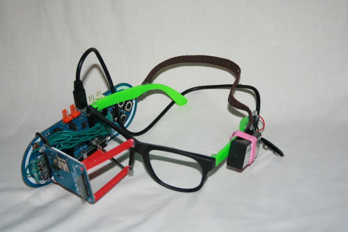 Diy Google Glass Make