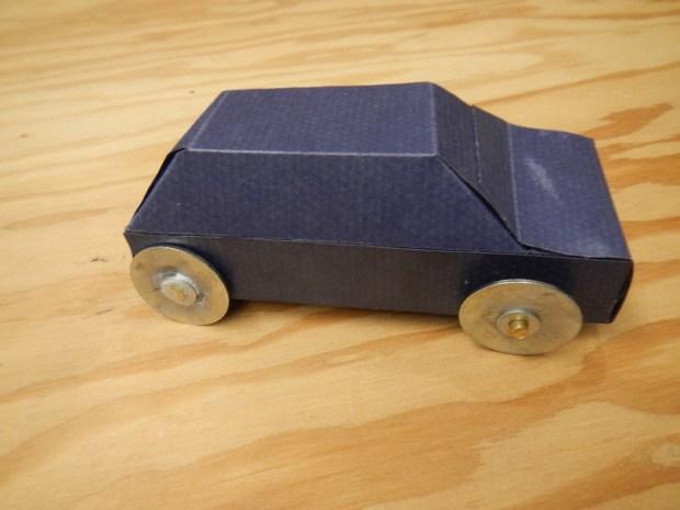 Nerdy Derby Paperboard Car