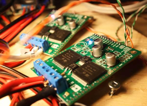 Fig. 21: Pololu motor controllers