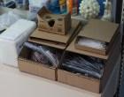 Instantly Design and Cut Custom-Size Storage Bins