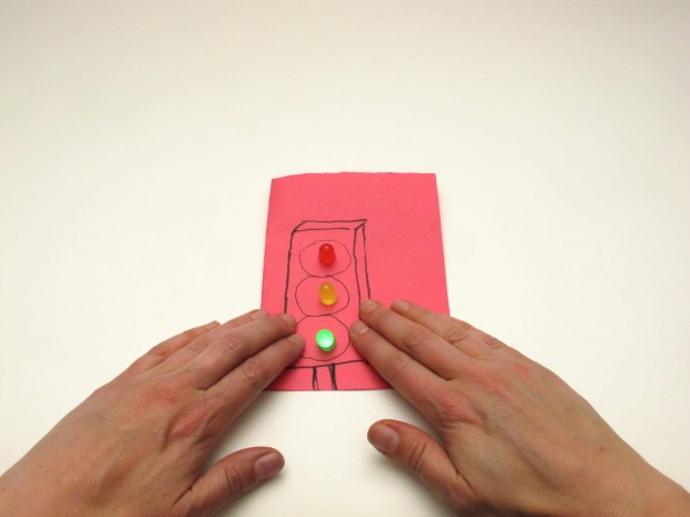 Paper Circuit: Parallel with Pressure Switch