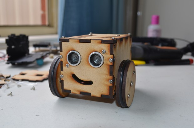 PopPet is a DIY, Arduino-compatible, open hardware robot kit.