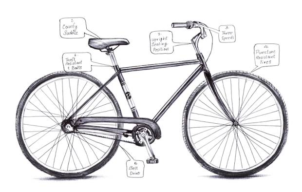 priority bikes sketch