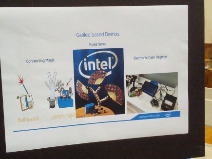 Intel Galileo demo