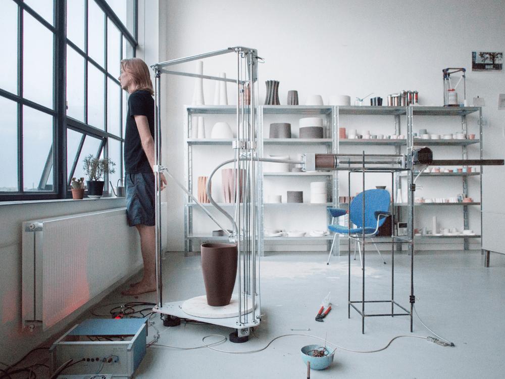 3D Printed Clay Art of Oliver Van Herpt