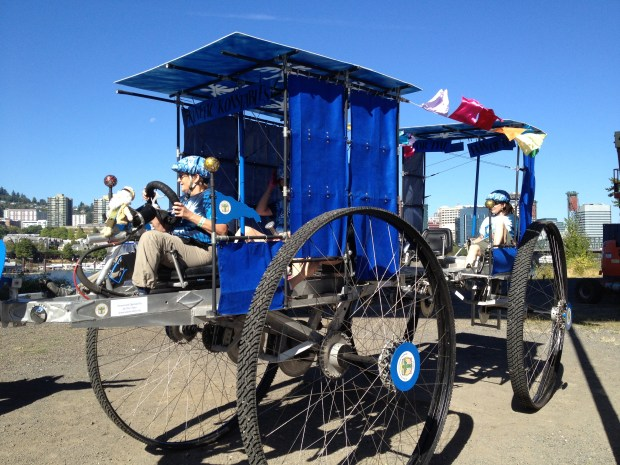 Another Pedal-powered Sculpture from the Graand Kinetic Challenge